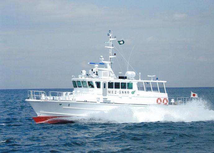三重県|取締・漁船:漁業取締船...